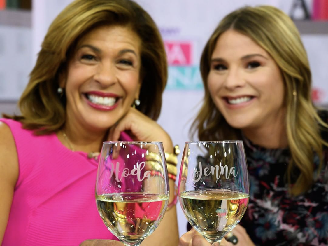 Jenna Bush Hager and Hoda Kotb