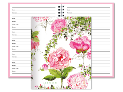 Rose Garden Address Book