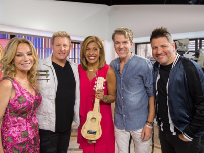 Hoda Kotb and Rascal Flatts
