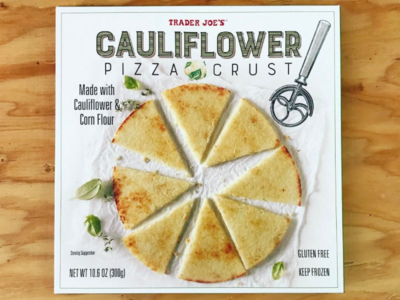 Trader Joe's Cauliflower Crust