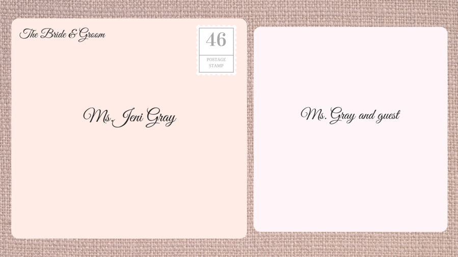 How to address wedding invitations southern living addressing double envelope wedding invitations to divorced woman filmwisefo