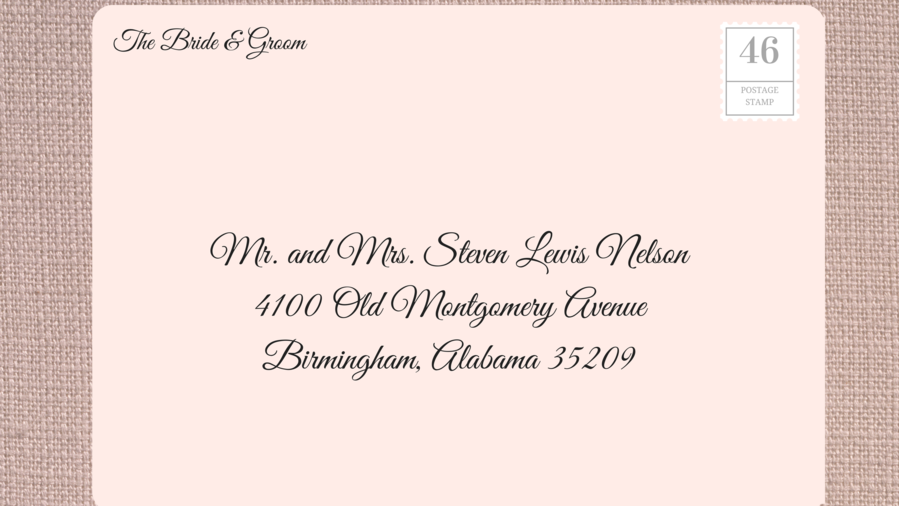 How to address wedding invitations southern living Southern living change of address