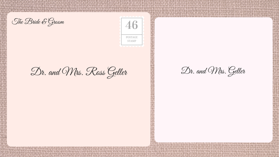 How to address wedding invitations southern living addressing double envelope wedding invitations to academic doctor stopboris Image collections