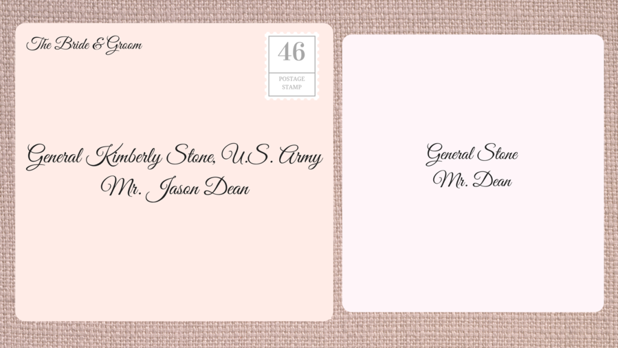 RX_1609_Wedding Invites Double_Female Military Officer