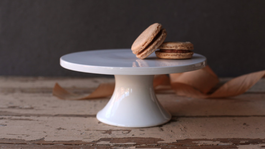 Minted Small White Cake Plate & Gracious Hostess Gift Ideas - Southern Living
