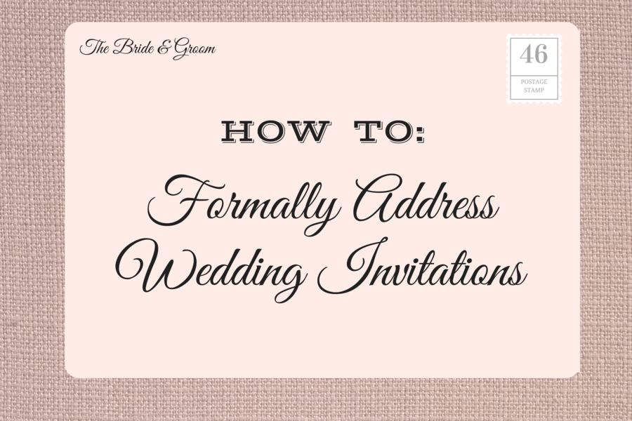 proper address format for wedding invitations - Dolap.magnetband.co