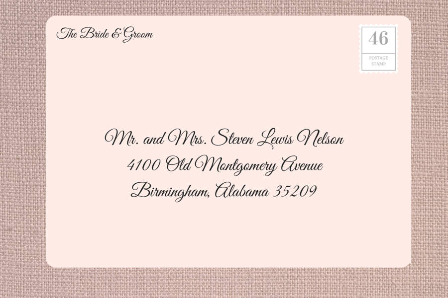how to address wedding invitations southern living With when addressing a wedding invitations