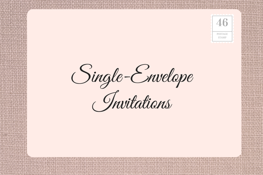 How to address wedding invitations southern living for How to address wedding invitations single envelope
