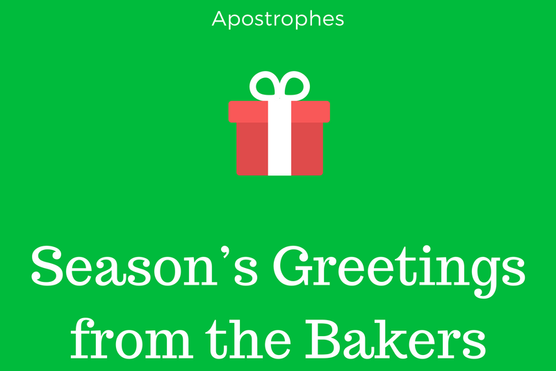 Christmas Card Grammar Mistakes Apostrophes