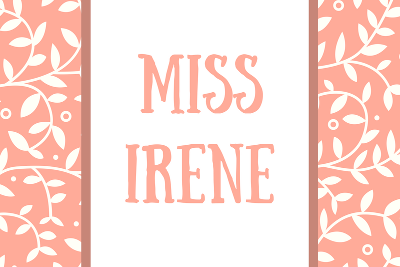 Mother-in-Law Name: Miss