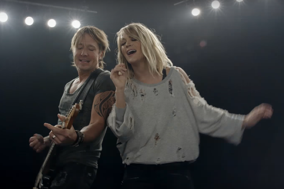 See a Sneak Peek of Carrie Underwood and Keith Urban's New Video