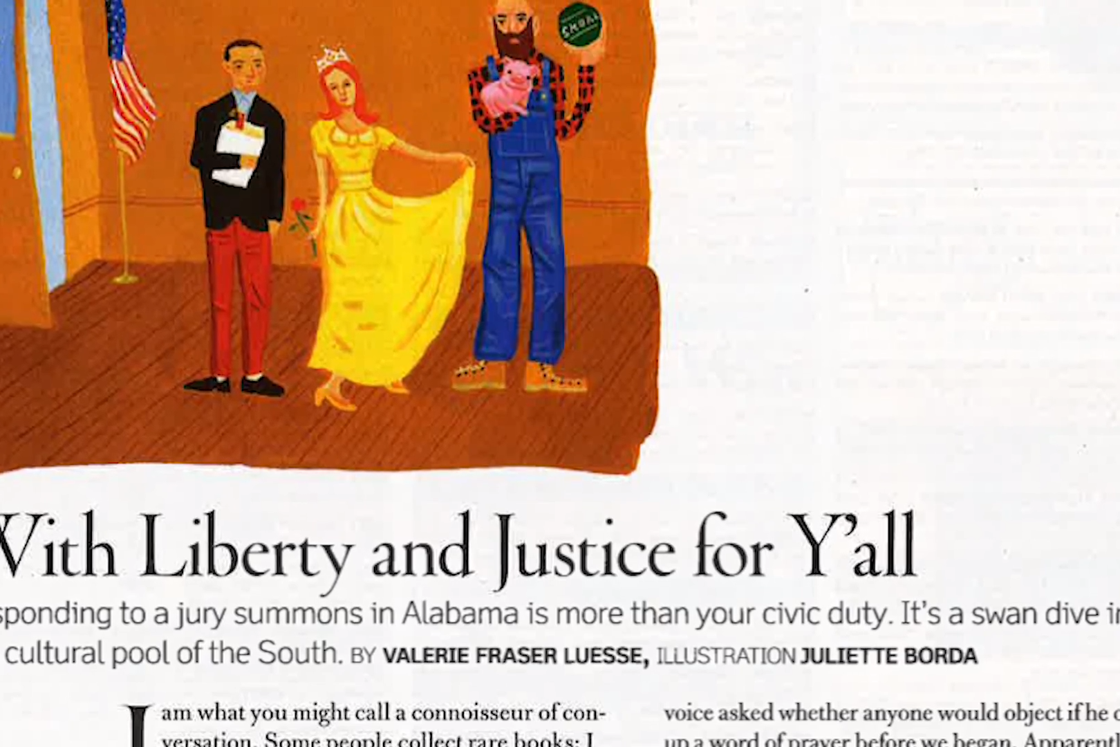 Stories Of The South: With Liberty and Justice For Y'all
