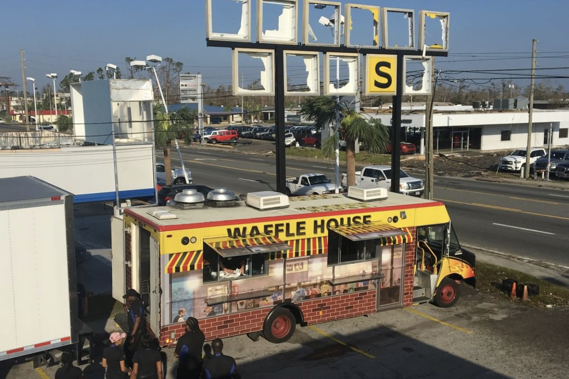 Waffle House Food Truck Is Giving Away Free Food to Panama City Hurricane Victims