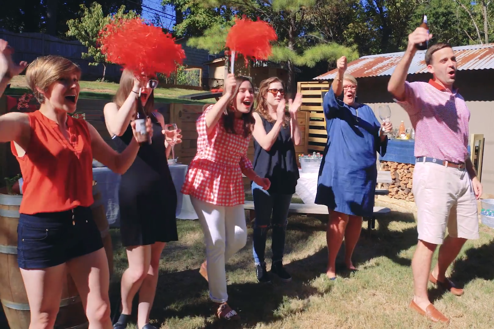 Hey Y'all Episode 3: Ivy Hosts the Ultimate Backyard Tailgate