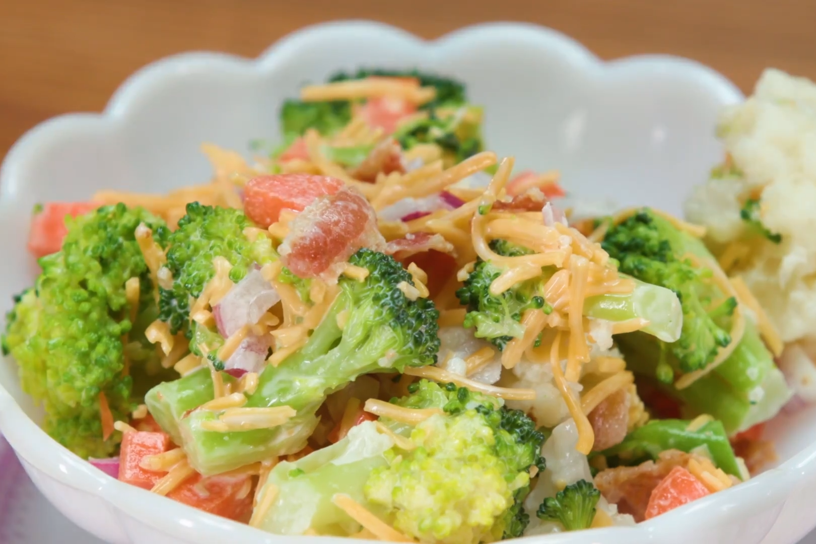 Chubba Bubba's Broccoli Salad Recipe