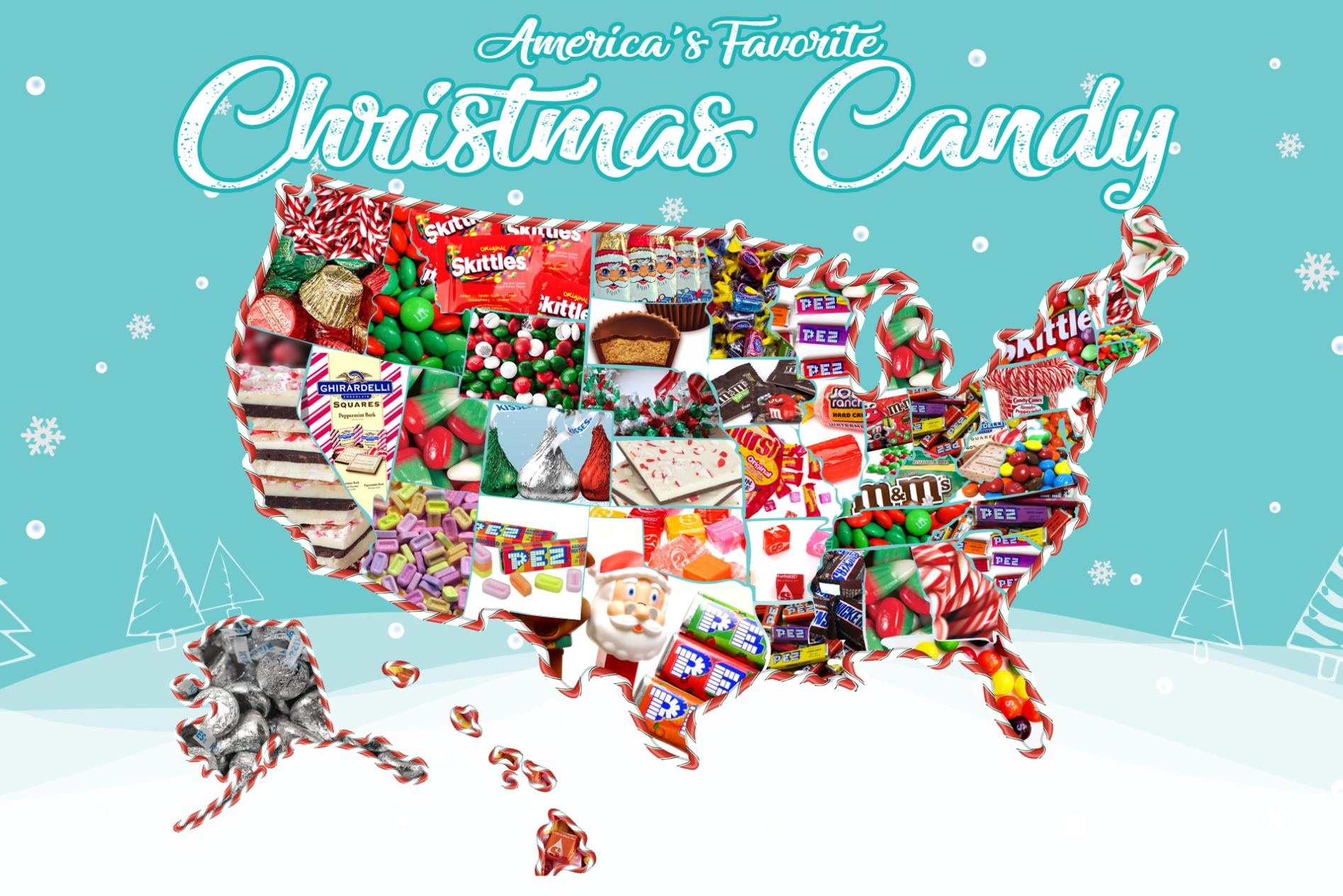The Most Popular Holiday Candy in Your State