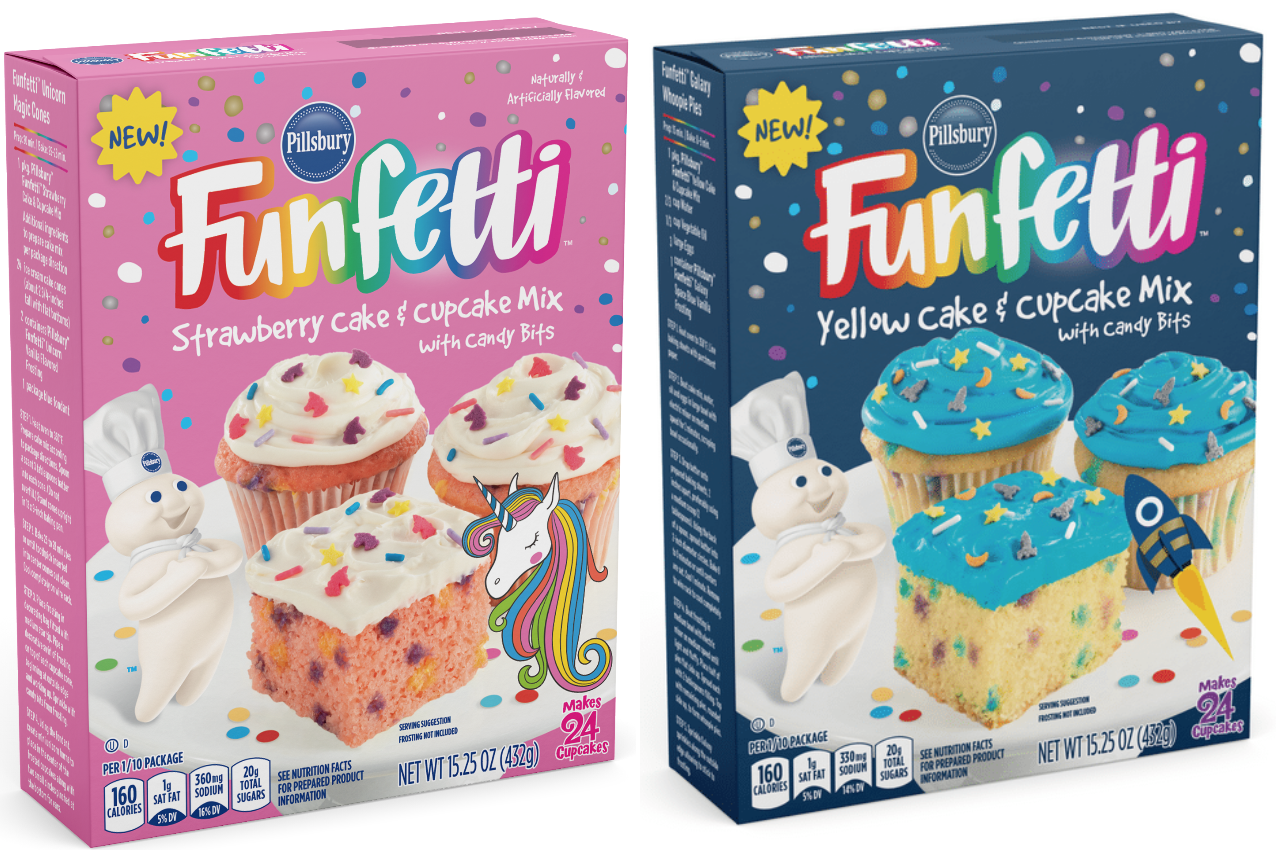 Pillsbury Just Launched Its First New Funfetti Cake Mixes In 30 Years