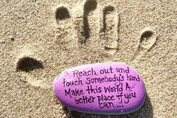 Spread a Little Kindness By Simply Painting a Rock
