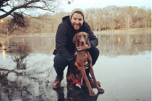Brett Eldredge Singing His Dog to Sleep Might Be The Cutest Thing We've Ever Seen