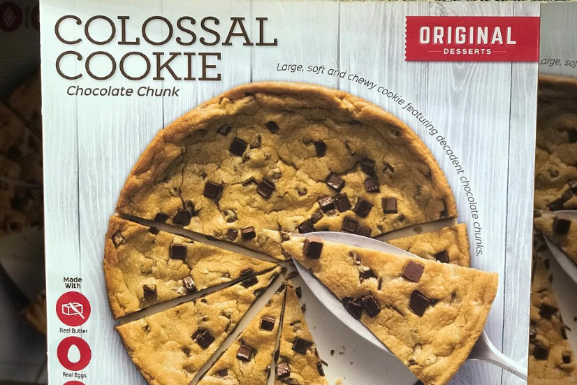 Costco's Colossal Cookie Is Here to Rescue You From Holiday Baking