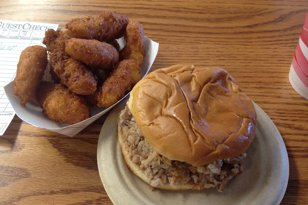 In Praise of Hushpuppies and Barbecue