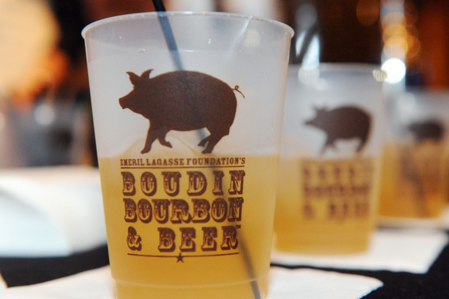 Five Things We Saw (and Ate) at  Emeril Lagasse's Boudin, Bourbon and Beer