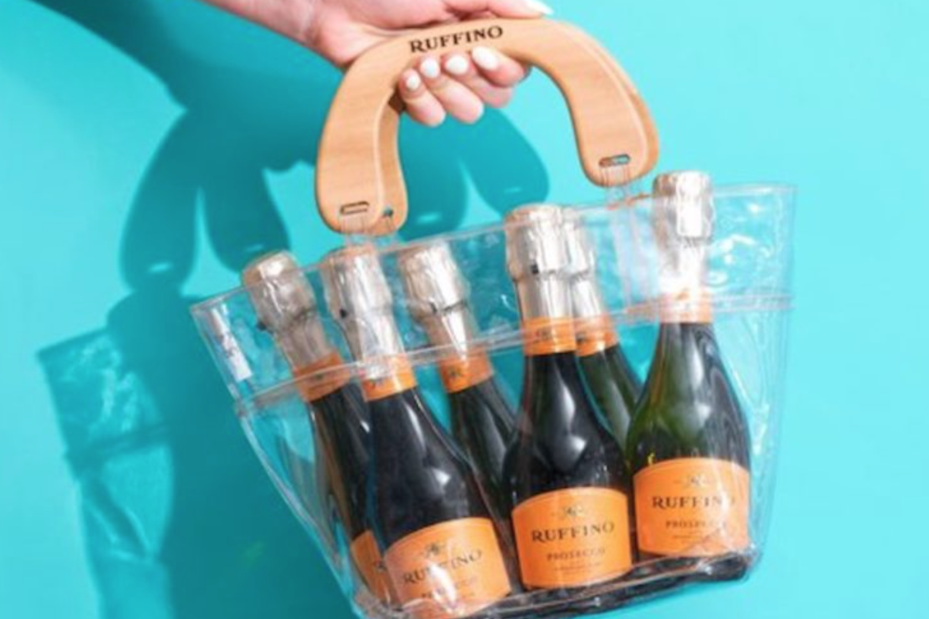 This Prosecco Purse Holds a 6-Pack of Bubbly