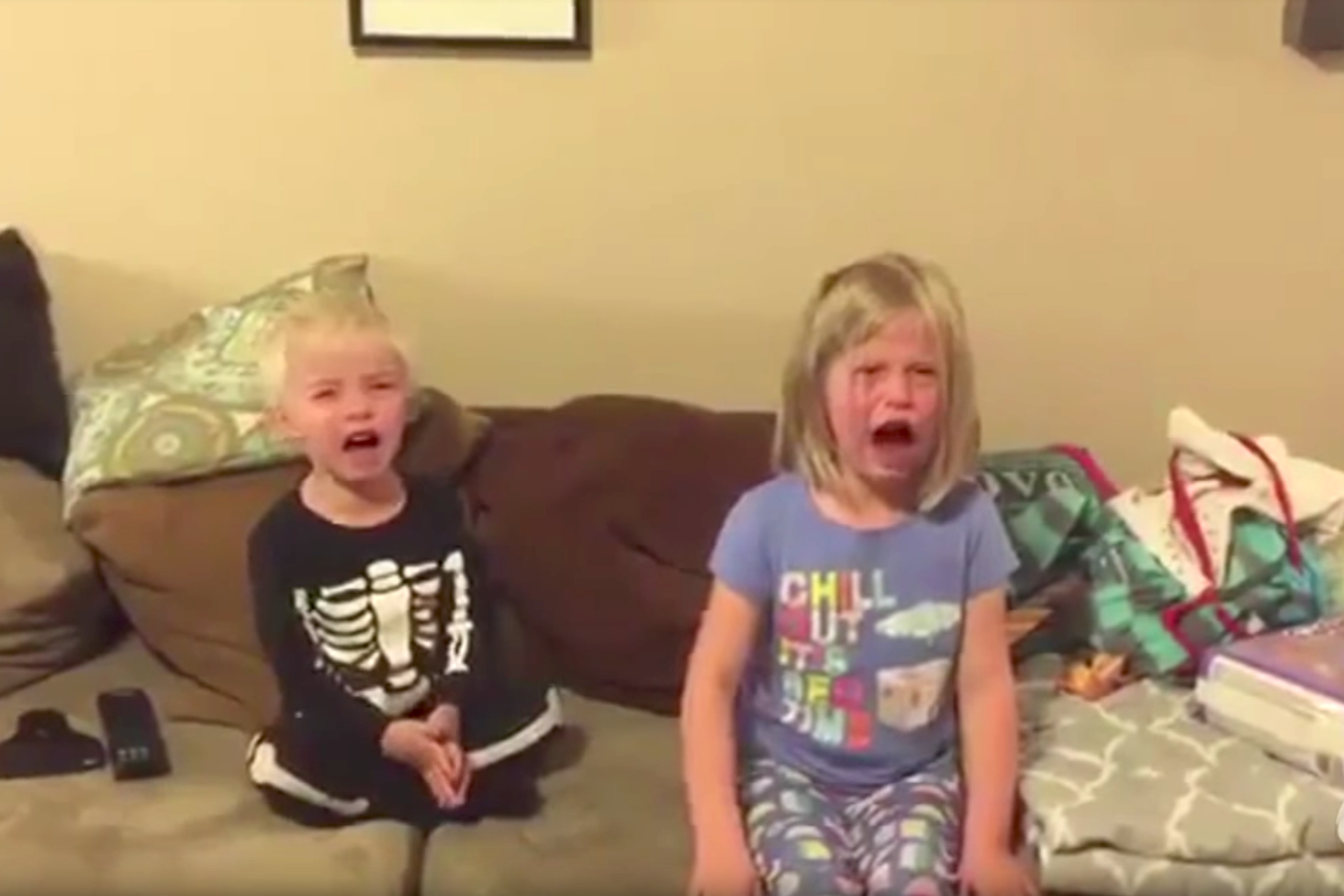 Jimmy Kimmel's Annual 'I Ate Your Halloween Candy Prank' Is Back and It's Fabulous