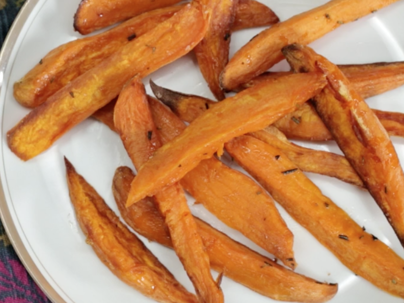 Health How To Make Oven Roasted Sweet Potatoes Image