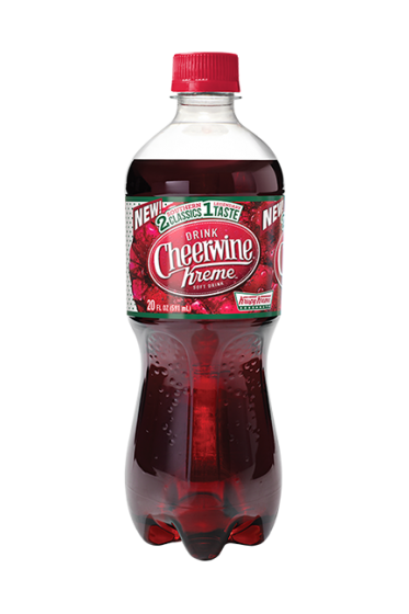 Stop Everything You're Doing Because Krispy Kreme and CheerWine Are Making a Soda