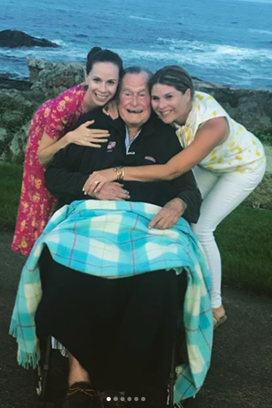 "Jenna Bush Hager Shares Emotional Post Mourning Her ""Gampy"""