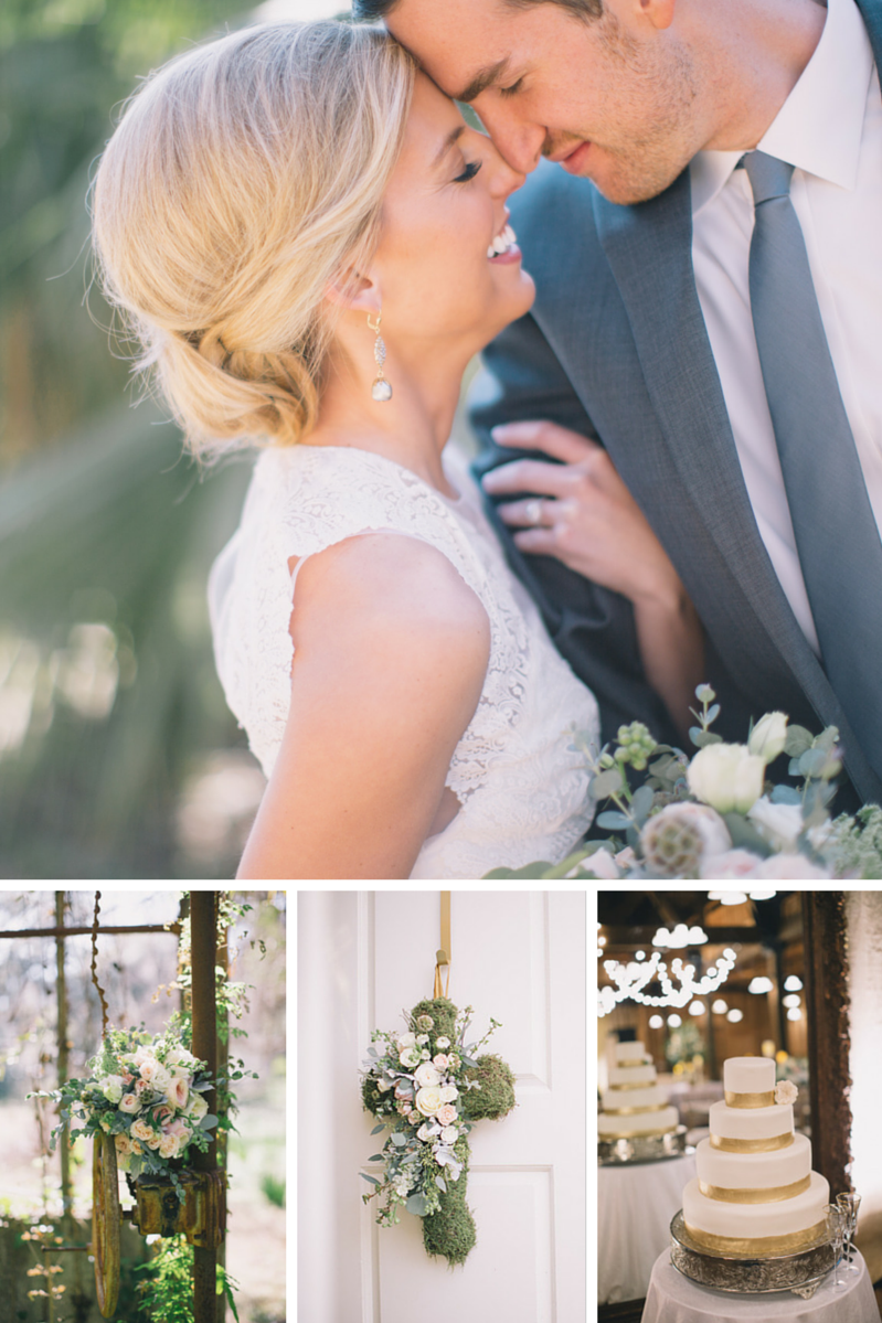 Romantic Wedding On A Florida Plantation