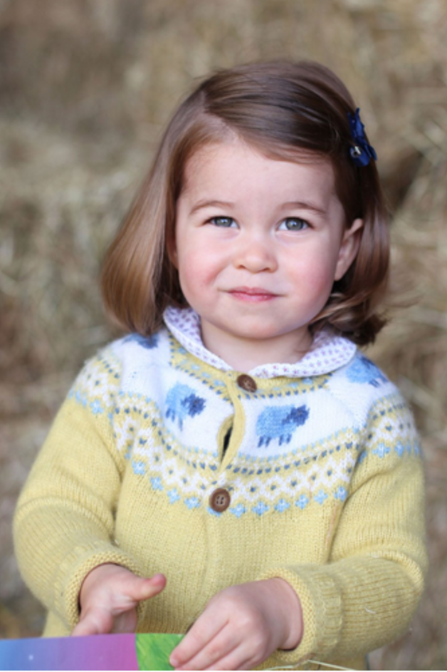 Princess Charlotte Shows Off Her First Royal Curtsy — and No One's Even Looking!