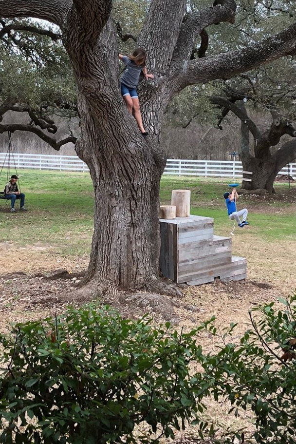 Chip and Joanna Gaines' 12-Year-Old Son, Drake, Hams It Up Like Dad During Backyard Playdate