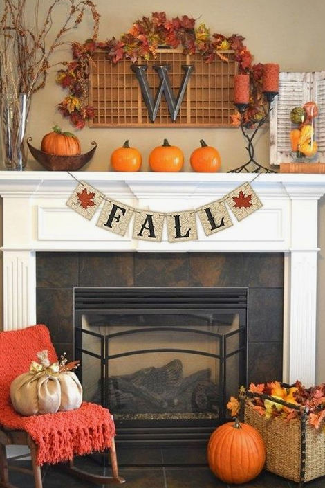 Mantel Decorating Ideas 25 fall mantel decorating ideas - southern living