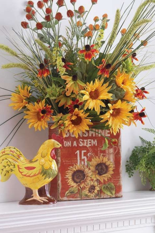 Fall mantel decorating ideas southern living