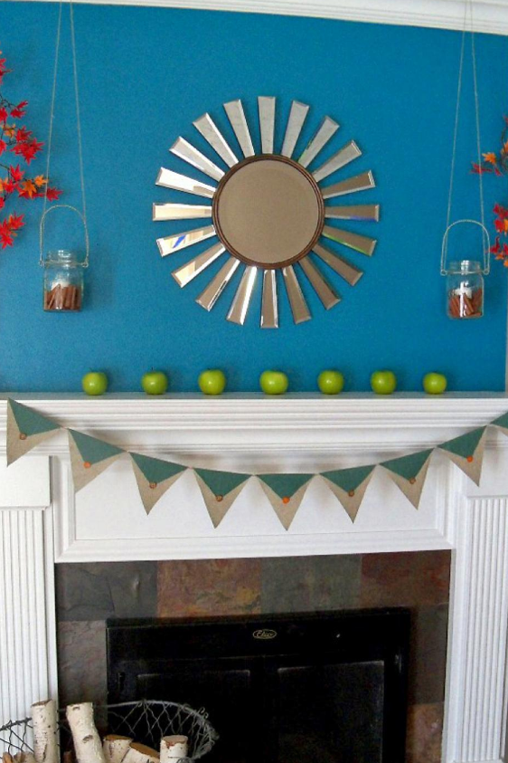 Vivacious Color Mantel