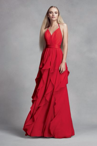 2017 Bridesmaid Dress Trends Bold and Bright 1