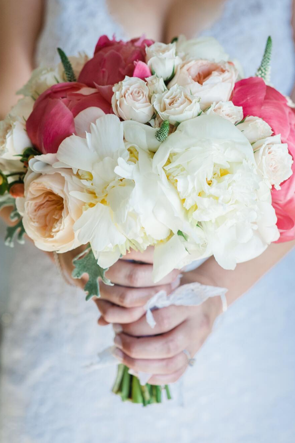 Peony Wedding Bouquets Polished