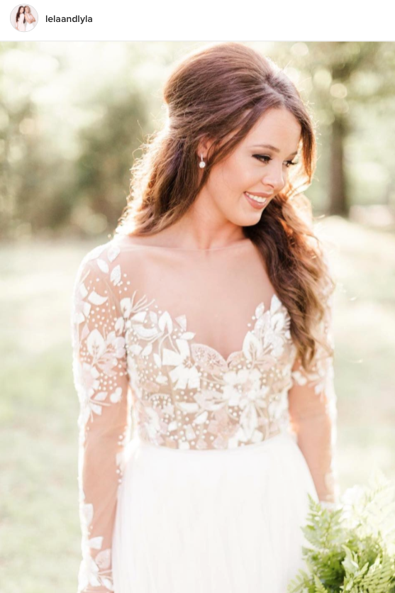 Blossoming Bodice Wedding Gown