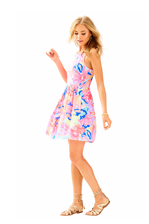 Kassia Fit & Flare Dress by Lily Pulitzer