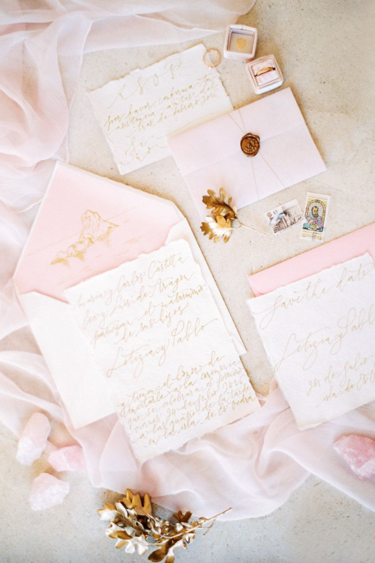 1. Set the Stage with a Sweetly Pink Paper Suite