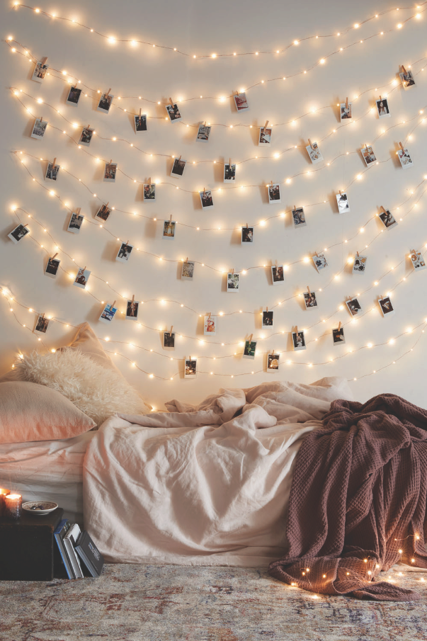 12 Ways to Use Your Christmas Lights in the Summer Pictures Hanging