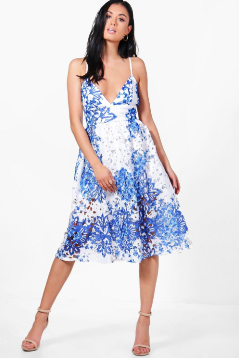 Bridesmaid dresses in gorgeous florals southern living for Boohoo dresses for weddings