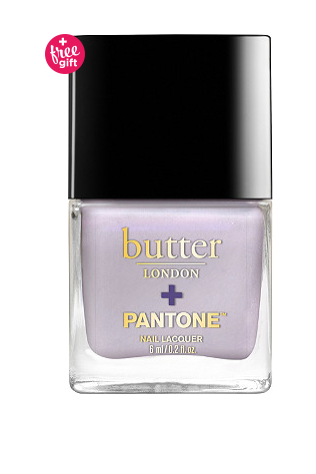 Butter London + Pantone Lacquer in Misty Lilac