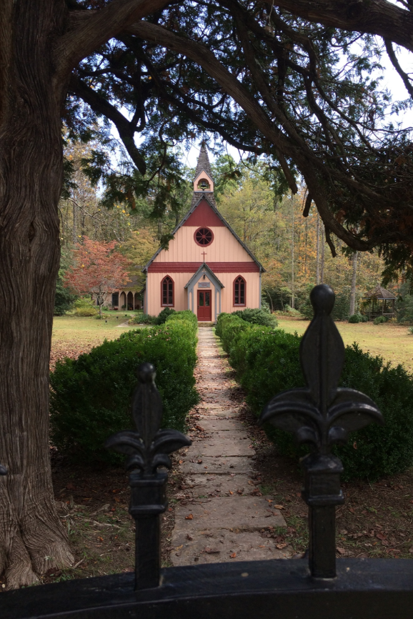 Christ Church Episcopal in Rugby, Tennessee