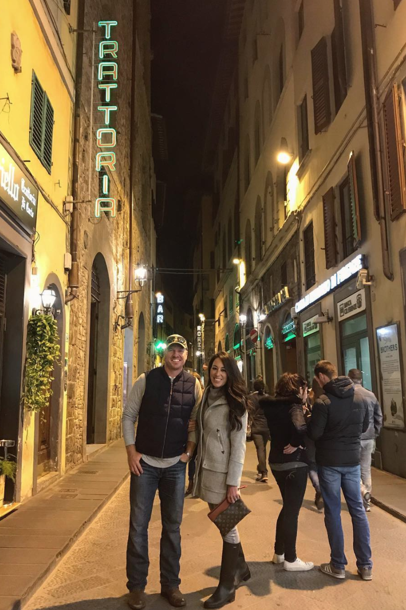 When They Went to Italy — And Napped a Lot