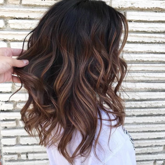 "Hair Colors: ""Cold Brew"" Hair Is Trending For Fall—And Brunettes"
