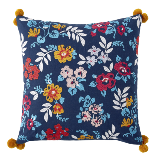 Ditsy Floral Decorative Pillow