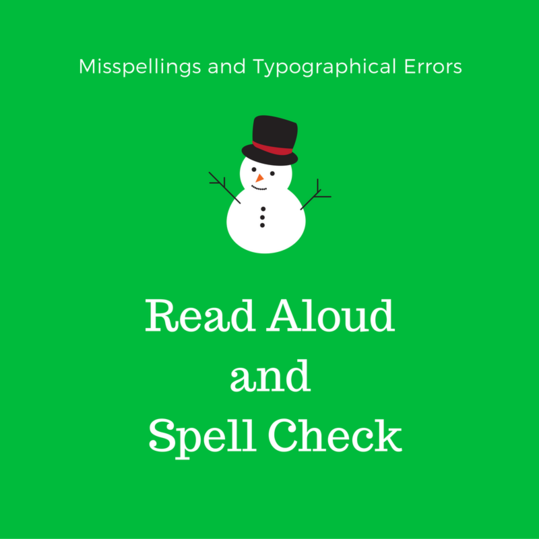 Misspellings and Typographical Errors